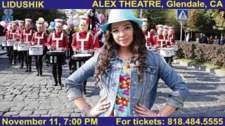 LIDUSHIK (LIDA ARAKELYAN) / CONCERT 11.11.2016 / Live In ALEX THEATRE/ Glendale,CA