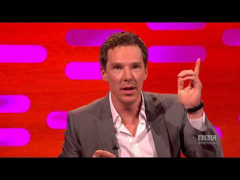 "Benedict Cumberbatch Gets ""Stiff"" Talking to Missy Franklin - The Graham Norton Show on BBC America"