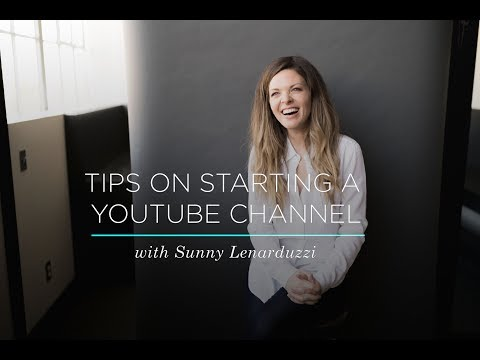 9 Tips to Grow Your YouTube Channel with Sunny Lenarduzzi | CreativeLive