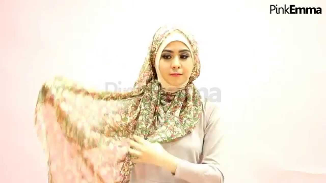 Tutorial Hijab Risty Tagor Layer Samping Untuk Ramadan YouTube