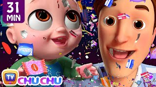 *New* Johny Johny Yes Papa Confetti Song + More ChuChu TV 3D Nursery Rhymes & Kids Songs