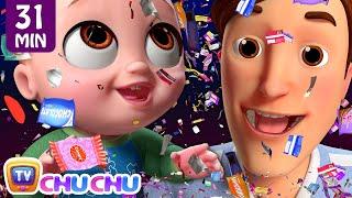 NEW Johny Johny Yes Papa Confetti Song + More ChuChu TV 3D Nursery Rhymes & Kids Songs