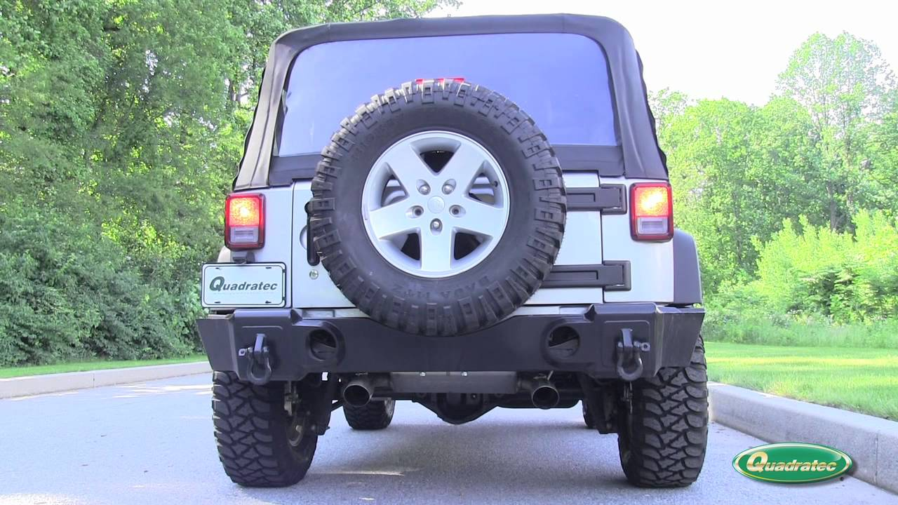 gibson axle back exhaust for jeep wrangler jk 2007 2012
