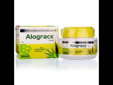 Alograce Cream with Aloe Vera : Online Shopping
