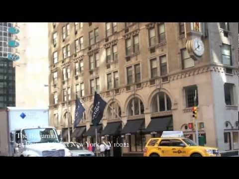 In The Lobby: The Benjamin Hotel New York City
