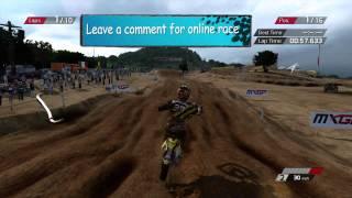 MXGP: Track Siting | Si Rachi - Thailand. XBOX 360
