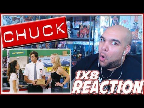 CHUCK REACTION Season 1 Episode 8