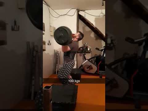 Log press 100 kg #Flo/iron/gym/warriior