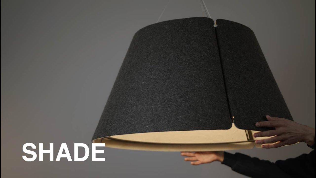 Lámpara colgante de la familia Shade - iMdi iluminación.
