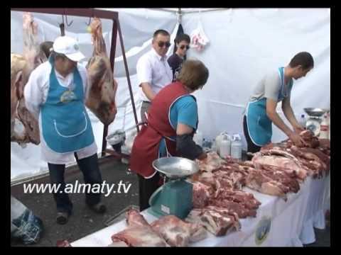 Алматы қаласындағы «Астана» алаңында ауыл шаруашылығы өнімдерінің жәрмеңкесі өтті