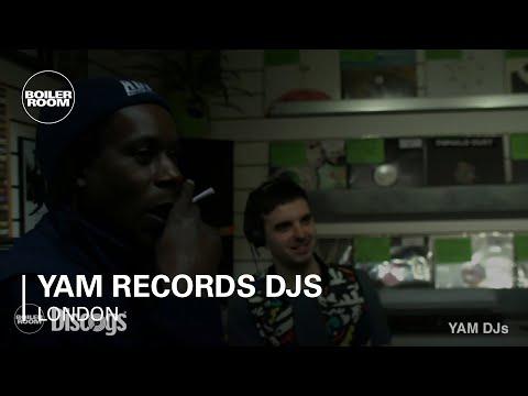 YAM Records DJs Boiler Room London DJ Set