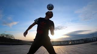 Freestyle Football skills 2020 - Freestyler Corentin Baron