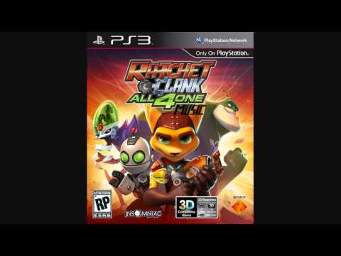Ratchet And Clank All 4 One Music - Main Theme