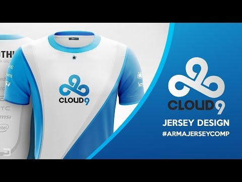 Cloud 9 Esports Jersey Design #ArmaJerseyComp