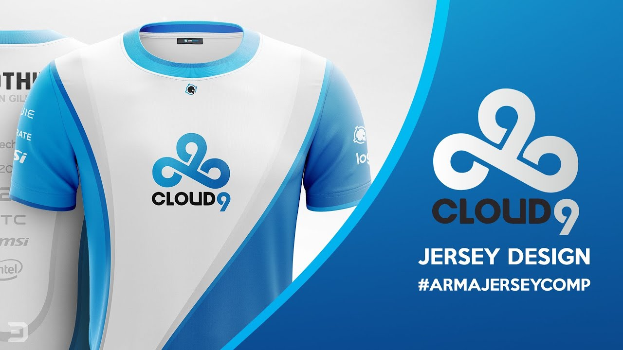 Cloud 9 esports jersey design armajerseycomp youtube for Cloud 9 architecture