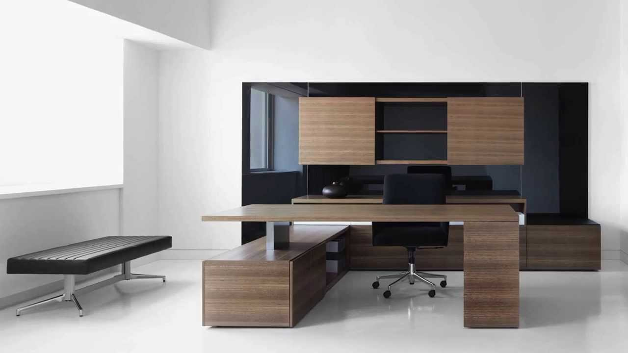 Luxury office furniture modern office furniture youtube Home office designer furniture