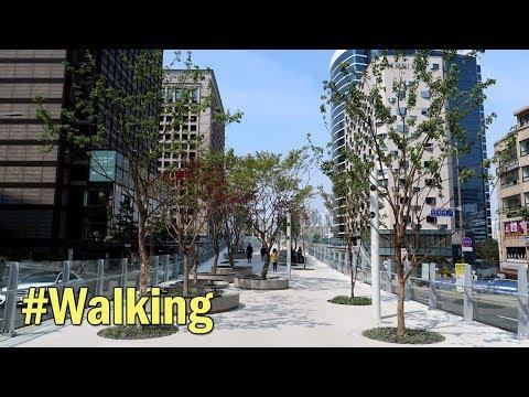 Seoullo 7017 (서울로 7017), New High Line Park in Seoul, Hanging Garden in Seoul : Walking in Seoul