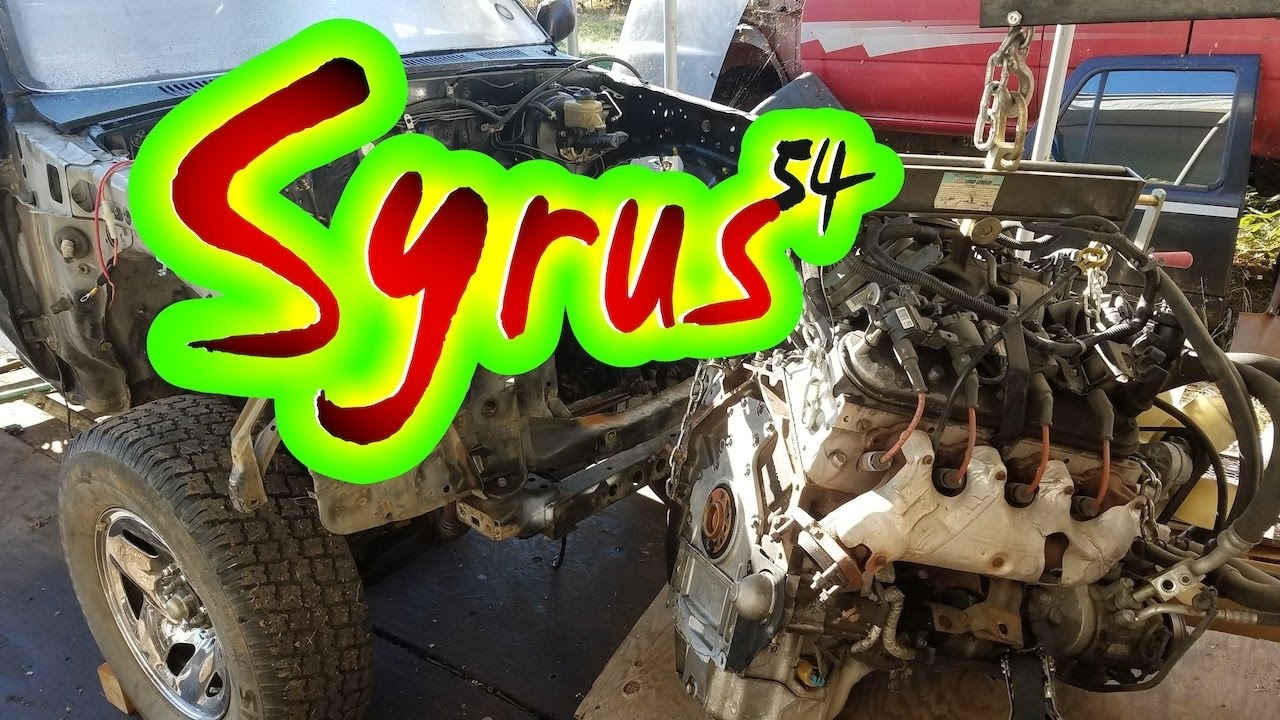 Ls Swapping A Toyota 4runner 53 Into 3rd Gen Youtube 91 Wiring Diagram
