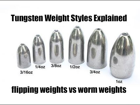 FISHING TIPS: Flipping Weight Vs Worm Weight