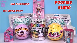 LOL Surprise Confetti POP Shopkins POOPSIE SLIME My Little Pony Squishy Surprises KIDS FUN Play