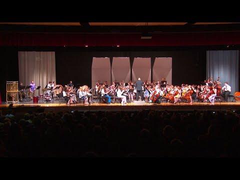 North Pocono Middle School Orchestra Spring Concert 2018