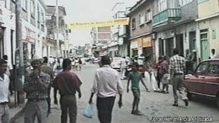 Despues del Terremoto carrera 5 Montenegro Quindio 1999