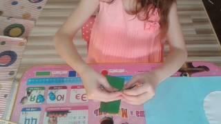 Пасхальная открытка.  Цыплёнок из яйца. Поделки для детей. Видео для детей За 5 минут. Своими руками