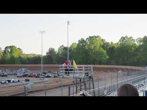 Sportsman practice at Virginia Motor speedway