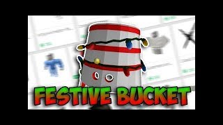 ROBLOX - Buying Festive Bucket and Platinum Eye - 2000 ROBUX GONE