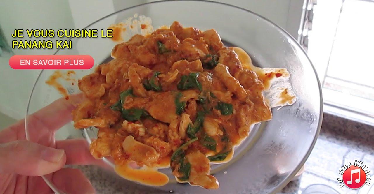 146: Je vous cuisine le Panang Kai