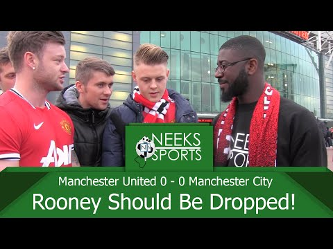 Manchester United 0 - 0 Manchester City - Dull Derby Stalemate! - #NeeksSports