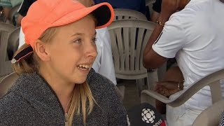 'It makes me think that one day I can go to Wimbledon too': Milos Raonic's young super fan
