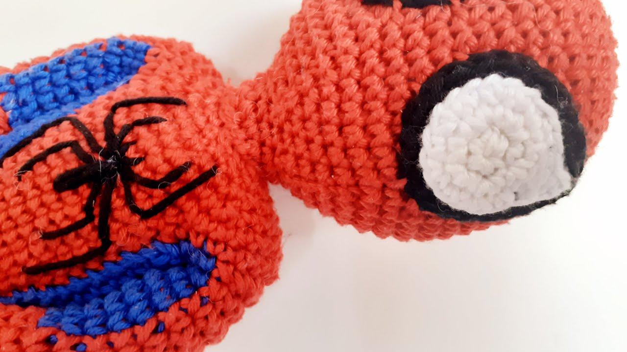 FromMe - O amigurumi do Homem-Aranha foi criado para ser... | فيسبوك | 720x1280