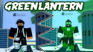 Becoming The Green Lantern in Roblox | Injustice Online Adventure | iBeMaine