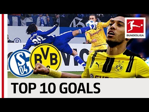 Top 10 Revier Derby Goals - Rakitic, Kagawa and More!