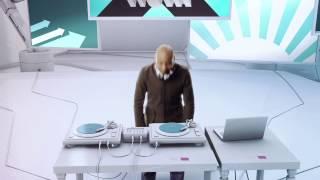 SYFY Channel Promo featuring Paul D. Miller aka DJ Spooky