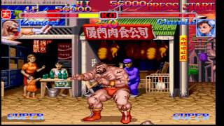 Street Fighter Collection - Saturn 1080p 60 fps via RGB SCART converted to HDMI