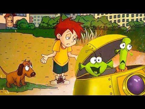 Мультфильм про дружбу шарика и летающую тарелку