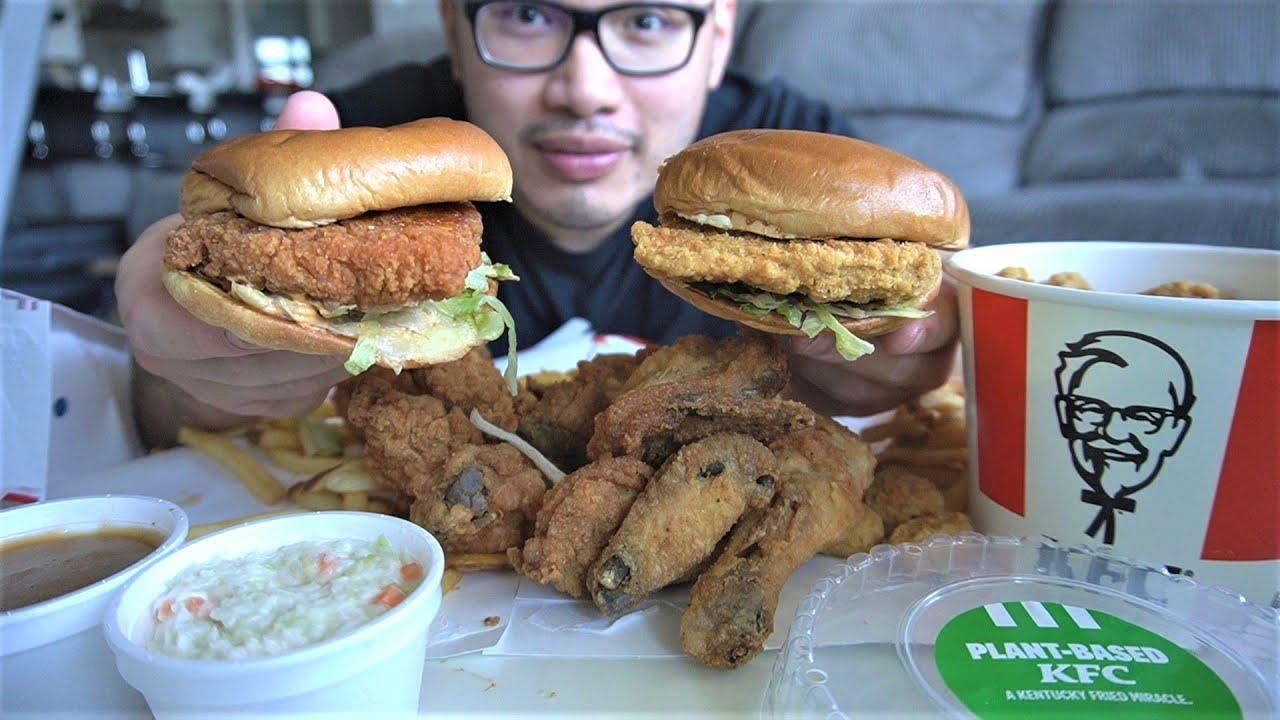 KFC vs Plant Base KFC