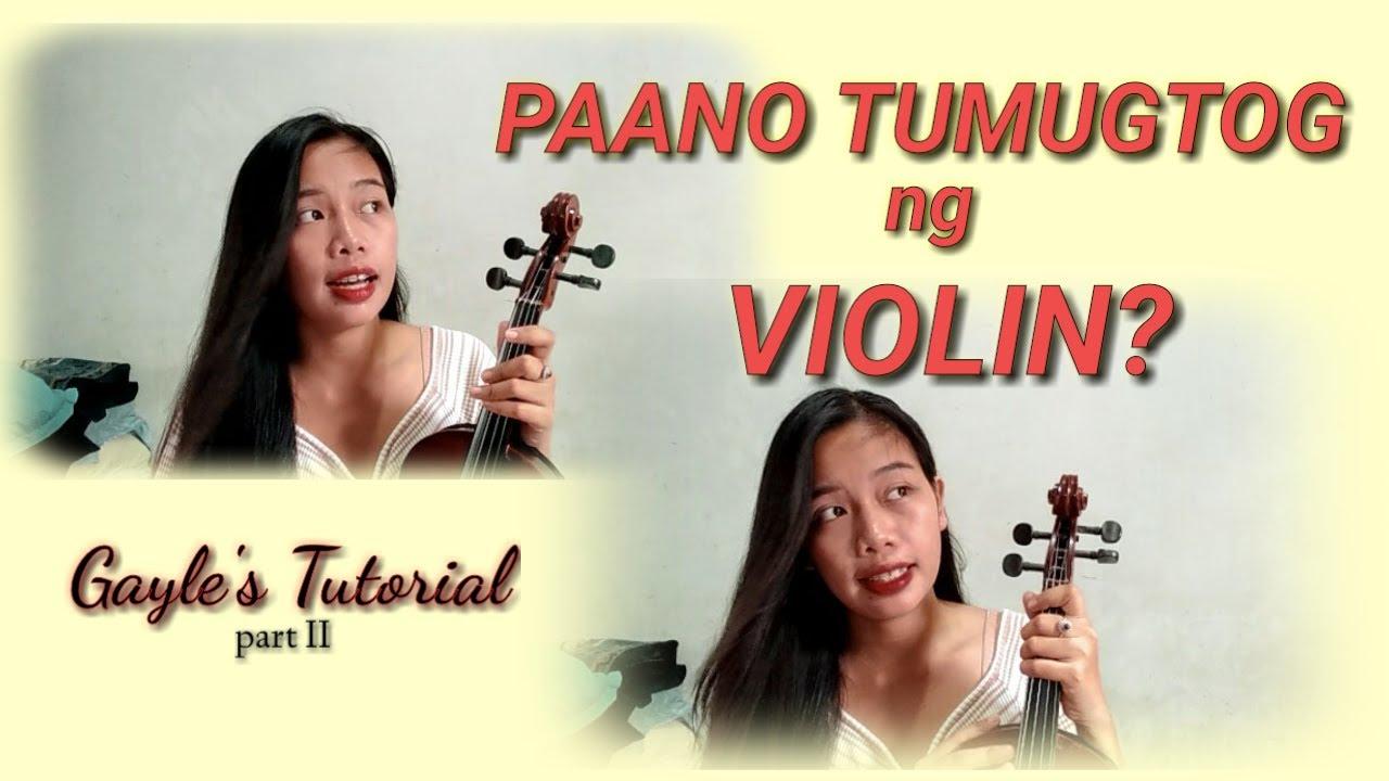 Download Intro To A Violin Fingering Chart for Beginners II Gayle's tutorial #violinspiration #filipinoVlog