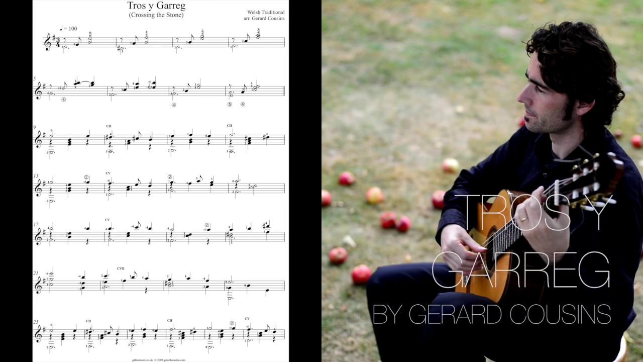 Tros Y Garreg by Gerard Cousins