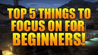 TOP 5 THINGS TO FOCUS ON WHEN FIRST PICKING UP GHOST WAR!