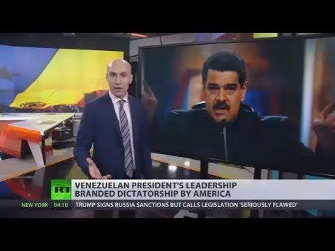 Now Maduro's Turn: US labels Venezuelan leader 'dictator' same as Assad, Hussein, Gaddafi