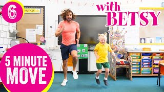 5 Minute Move Featuring Betsy | The Body Coach TV