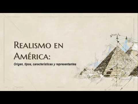 Realismo en América; origen, características y escritores
