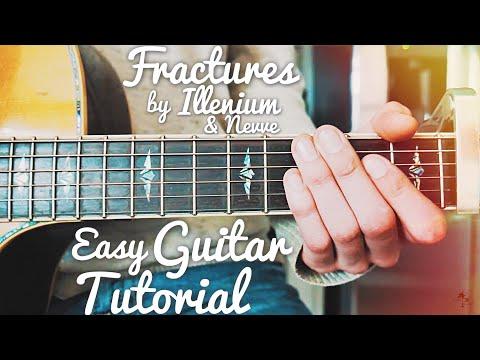 Fractures Illenium Guitar Lesson for Beginners // Fractures Guitar // Lesson #415