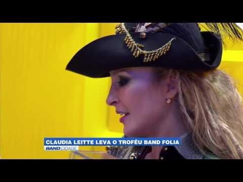 "Band Cidade - ""Claudia Leitte leva o troféu Band Folia''"