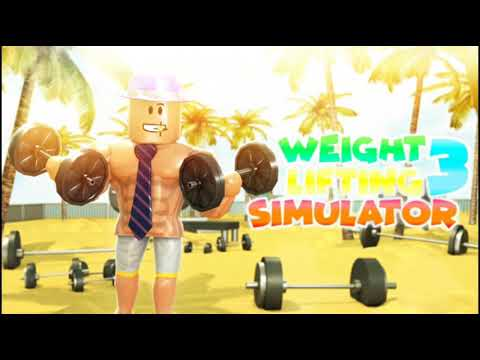 Weight Lifting Simulator 2 how To MAX the Double Weight ...