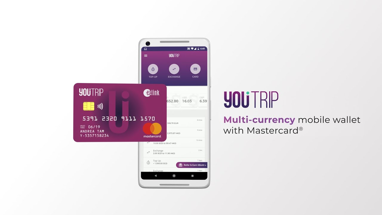 YouTrip – Multi-currency travel wallet and money changer in app