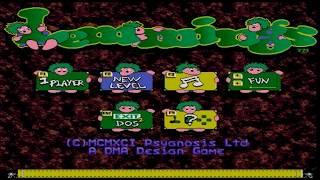 Lemmings (DOS) Full Game Walkthrough / Speedrun